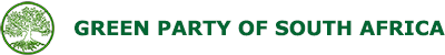 The OFFICIAL Green Party of South Africa